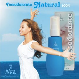 DESODORANTE NATURAL 80 ML. NATUR NUA