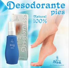 DESODORANTE PIES CON ARBOL DE TE 80 ML. NATUR NUA