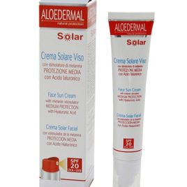 CREMA SOLAR FACIAL FP 20 75ML. ALOEDERMAL